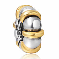 European Beads Best Gold Plated Jewelry Fit 925 Silver Sterling Charm Bracelet