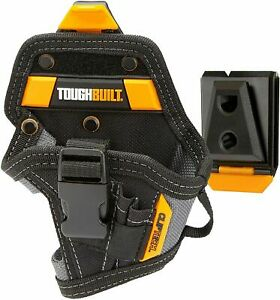 ToughBuilt TB-CT-20-S Drill Holster Work Belt Clip Pouch Holder 5 Pocket Loop
