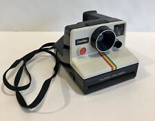 Vintage Polaroid SX-70 One Step Rainbow Stripe Instant Film Land Camera Untested