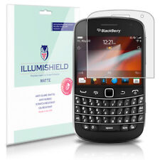 Screen protectors for blackberry bold 9900 ebay illumishield anti glare matte screen protector 3x for blackberry bold 9900 reheart Choice Image