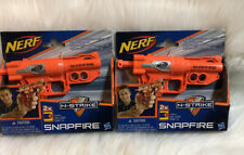 Lot of 2 Hasbro Nerf N-Strike SnapFire Blaster Toy Dart Guns Factory Sealed