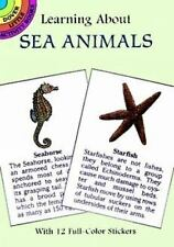 Learning About Sea Animals (Dover Little Activity Books) by Sy Barlowe