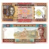 Pick 43 Guinea 1000 Francs 2010  Unc. / 358044vvv