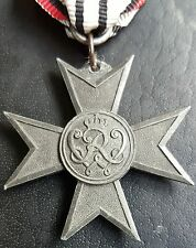 ✚7599✚ German Prussian Merit Cross War Aid Verdienstkreuz Kriegshilfe medal WW1