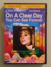 barbra streisand  ON A CLEAR DAY YOU CAN SEE FOREVER   DVD genuine region 1