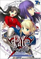 Fate Stay Night Normal ver. PC Windows Game TYPE-MOON Anime Japan CD-ROM