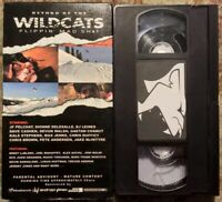 """""""Return Of The Wildcats: Flippin' Mad Sh*t"""" VHS Snowboarding Rare 2001"""