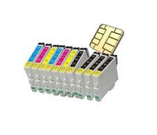 10 Patronen für Epson Stylus SX130 S22 SX125 SX420W SX425W SX440W BX305FW SX235W