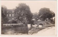 MILL HOUSE STREAM, WEST DRAYTON, REAL PHOTO POSTCARD  (ref 6533/19 B02)