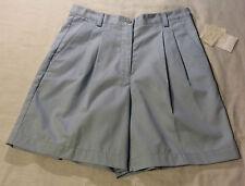 Liz Claiborne size 10 blue shorts 30 inch waist new with tags
