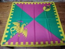 PALIO DI SIENA - Fazzoletto Contrada DRAGO 80 x 80 NUOVO - foulard scarf new!