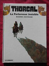 THORGAL - 19  La Forteresse invisible  Rosinski - Van Hamme -  LE LOMBARD - 2003