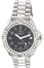 Men's Breitling Colt 1884 Automatic Stainless Steel & Diamonds A17035