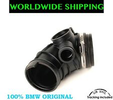 BMW E85 Z4 M54 3.0i RUBBER AIR INTAKE MANIFOLD BOOT PIPE GENUINE New
