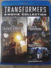 Transformers - 4 Movie Blu ray Collection - Megan Fox, Mark Wahlberg