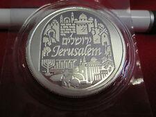 1 oz .999 Fine Silver Bullion 2014  City of Peace Jerusalem Holy Land Mint