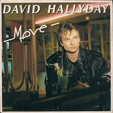 "45 TOURS 7"" SINGLE--DAVID HALLYDAY--MOVE / YA SEEN ONE YA SEEN 'EM ALL--1988"