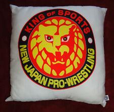 King of Sports - New Japan Pro Wrestling - Pillow Official Njpw Lion Mark