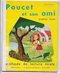 POUCET et son AMI  méthode de lecture 1er livret  Charlot-Géron Ill. F. Garnier