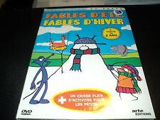 "DVD DIGIPACK NEUF ""FABLES D'ETE, FABLES D'HIVER"" dessins animes"