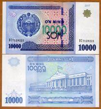 Uzbekistan, 10000 (10,000) Sum, 2017, Ex-USSR, P-New, UNC