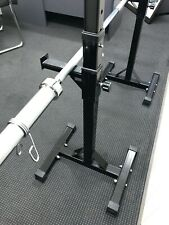 Near New Freestanding Bench/Squat rack combo (Bar Not Included)