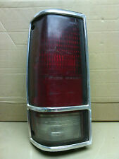 82' - 93' Chevrolet S10 Blazer  LH (driver)  tail light  OEM  cracked  OEM