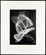 """""""Rhythmogramm"""", 1962. Heinrich HEIDERSBERGER (1906-2006 D), handsigniert"""