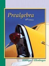 MathXL Tutorials on CD: Prealgebra by Marvin L. Bittinger and David J. Ellenbog…