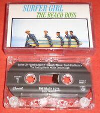 THE BEACH BOYS - RARE CASSETTE TAPE - SURFER GIRL