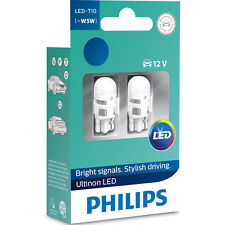 Philips Ultinon LED W5W 4000K Warm White Car Interior Bulbs (Twin) 11961ULW4X2