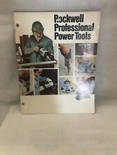 Vintage Rockwell Professional Power Tools Catalog 1970's