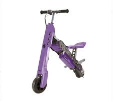 BRAND NEW VIRO Rides Vega Transforming 2-in-1 Electric Scooter/Mini Bike Purple