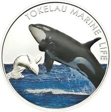 ORCA - KILLER WHALE 2012 Tokelau Silver proof