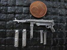 WWII Wehrmacht MP40 Gewehr Magazin Tasche RC Panzer Diorama Dek Zubehör Set 1/16