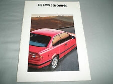 BMW 3 Series Coupes brochure 1991 German text?
