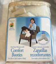 Velvet Therapeutic Anti-Stress Microwaveable Comfort Booties Hot Or Cold Relief