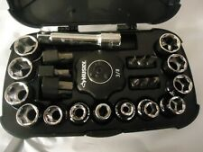 Husky Tools 3/8  Mini Socket Set In Plastic Case
