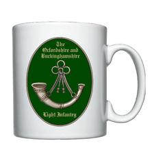 The Oxfordshire and Buckinghamshire Light Infantry  -  Personalised Mug