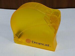 SEGA Dreamcast DC -Rare Dreamcast Disc Holder (Yellow) - Japan Import