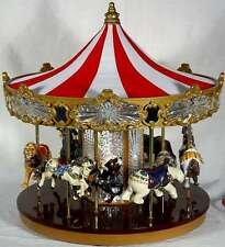 Celebration Carousel Music Box w/Moving Horses-See VIDEO!