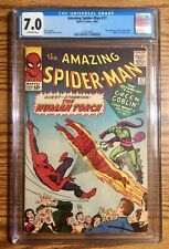 Amazing Spider-Man #17 CGC 7.0 OW Pages Marvel Comics 2nd Green Goblin Free Ship