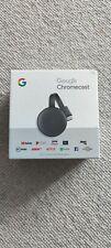 Google Chromecast 3rd Gneration Media Streamer - Charcoal