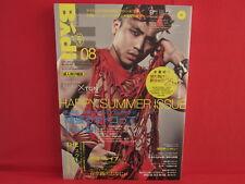 Badi 08/2013 Japanese Gay Homosexual Magazine w/DVD
