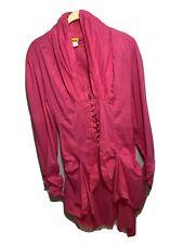 NWT Women Hot Pink High Low Dress Size M