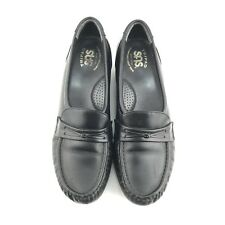 41dd3545db3 New ListingSAS Tripad Comfort Shoes Womes Size 7.5 N Black Leather Slip On  Walking Loafer