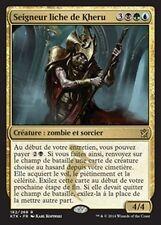 MTG Magic KTK - (3x) Kheru Lich Lord/Seigneur liche de Kheru, French/VF