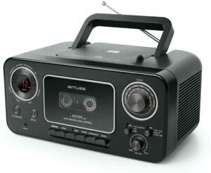 Muse M-182 Stereo-Radio mit CD-Player und Kassetten-Recorder