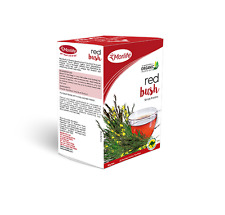 Morlife Teabags Red Bush 25's x2 Box   Rooibos Herbal Tea