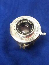 Alphax Shutter Wollensak Oscillo Anastigmat 75mm F4.5 Format Camera Lens